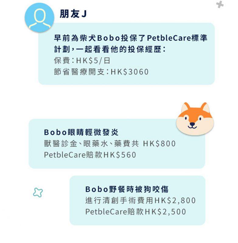 PetbleCare 寵物保險標準計劃投保經歷經驗